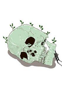 climbing up to my skull