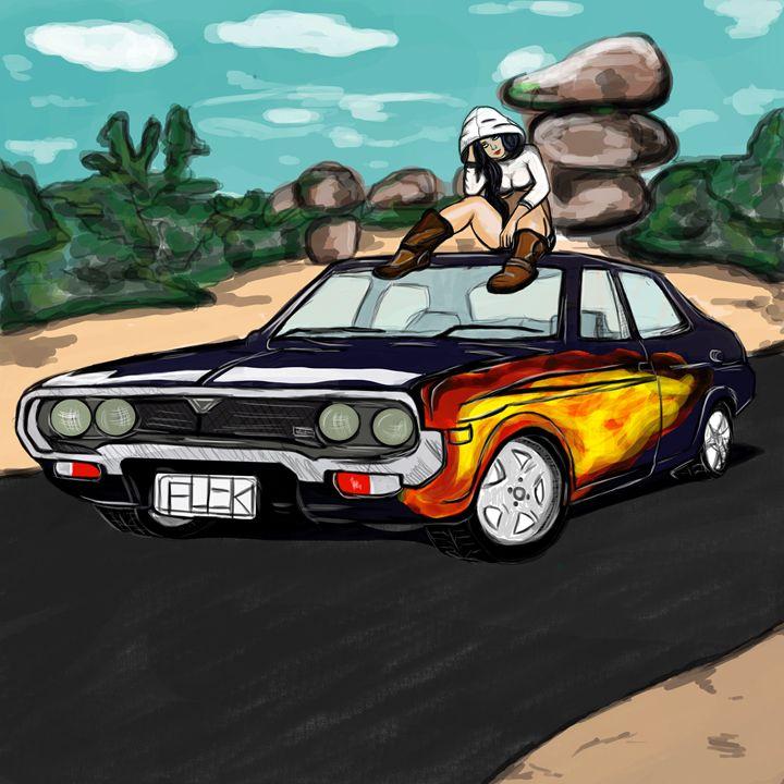 car babe - Azure Prince