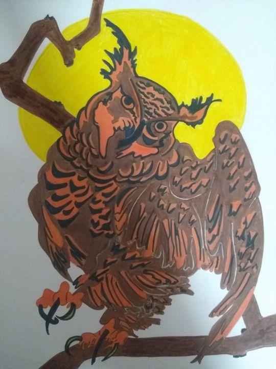Night owl - Angels creations