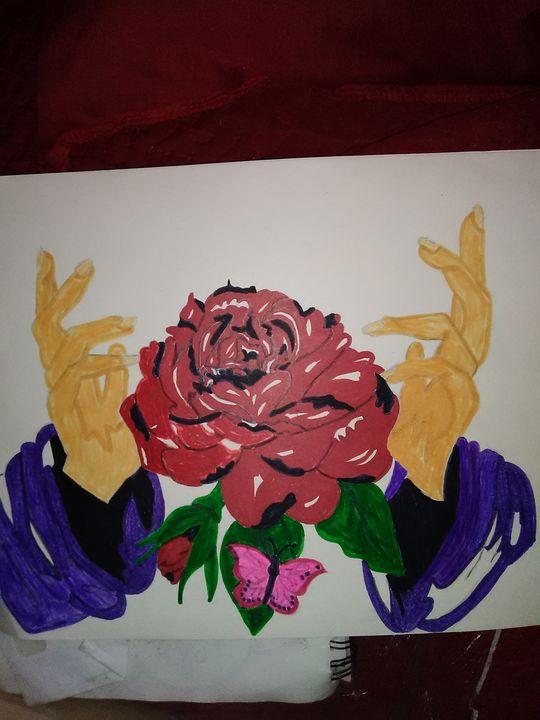Jesus's Love rose - Angels creations