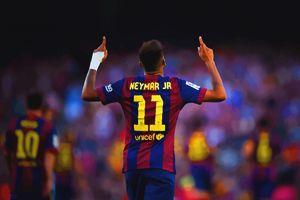 Neymar of FC Barcelona celebrates - DonDigitalStudio