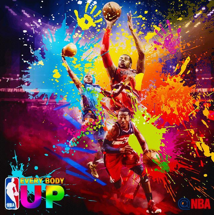 NBA Season poster - Design 2 - DonDigitalStudio