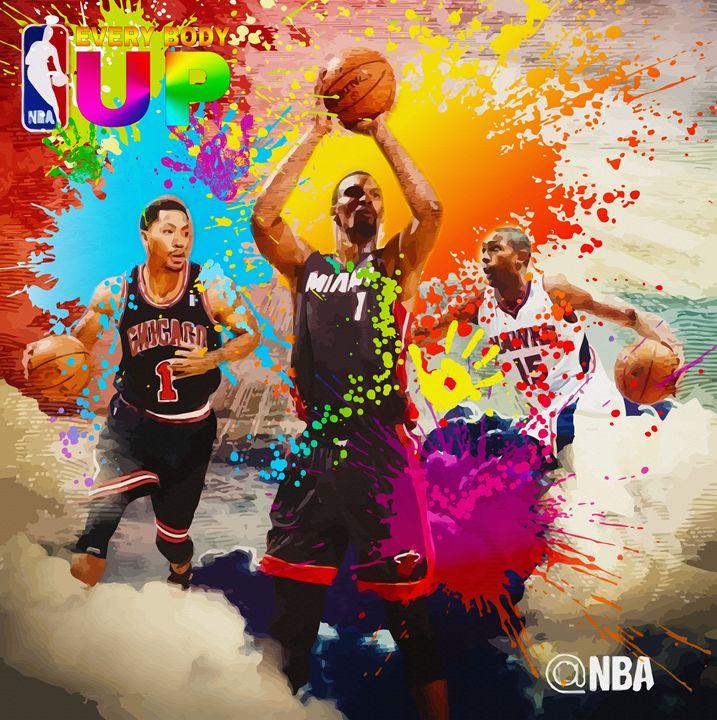 NBA Season Poster Design 4 - DonDigitalStudio