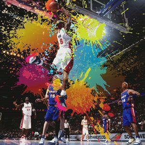 NBA Season Poster Design 1 - DonDigitalStudio