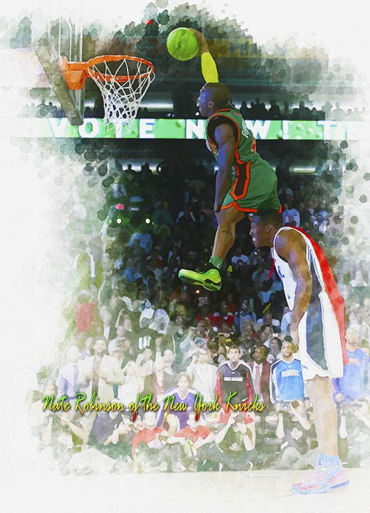 Nate Robinson of the New York Knicks - DonDigitalStudio