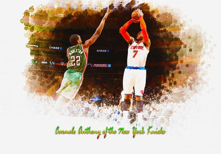 Carmelo Anthony - New York Knicks - DonDigitalStudio
