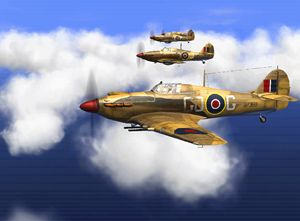 Supermarine Spitfire On the move - DonDigitalStudio