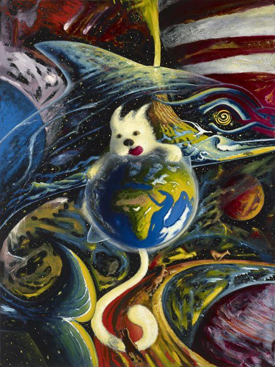 Dog In Space - Vladimir Astachkine
