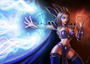 Warcraft Human Mage