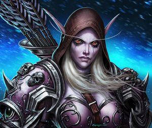 Warcraft Sylvanas Shadowlands