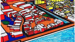 City 3d Look - Coat of many tints