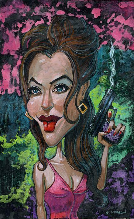 Angelina - Shane Larson Art