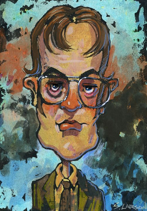 Dwight - Shane Larson Art