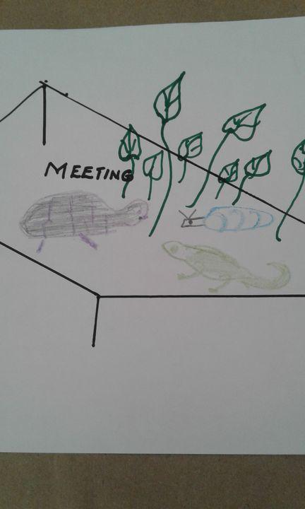 Like Minded Meeting - Vuyo  Makaula Art