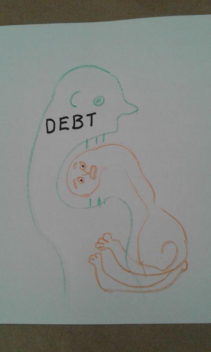 Debt - Vuyo  Makaula Art