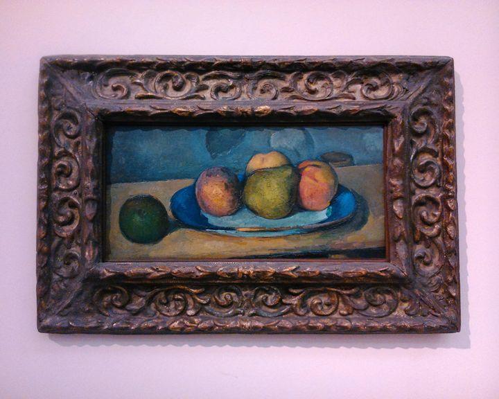 Cézanne - still life - Danciatko