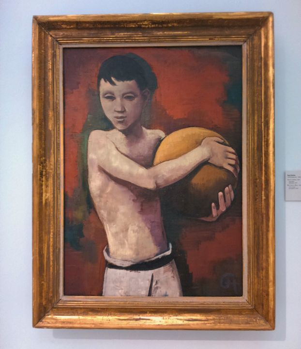 Picasso -  boy with the ball - Danciatko