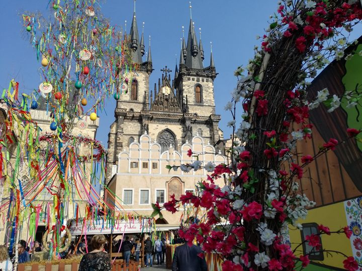 Easter in Prague - Danciatko
