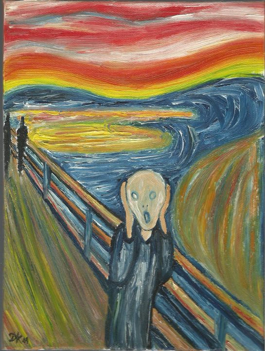 The scream - Danka Art