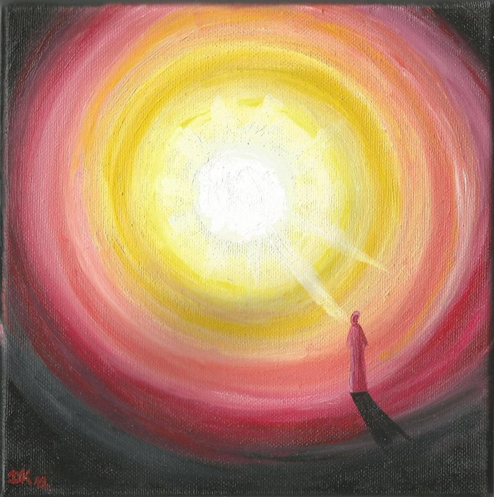 Light at end of tunnel - Danka Art