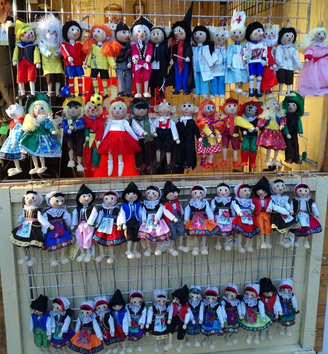 Marionettes - Danka Art