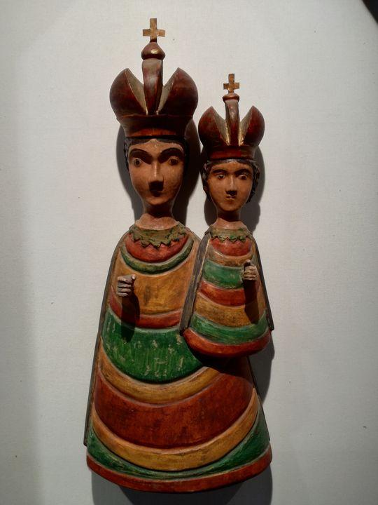 Virgin Mary and Jesus - Danka Art