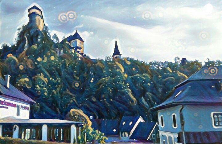 Orava caste - Slovakia - Danciatko