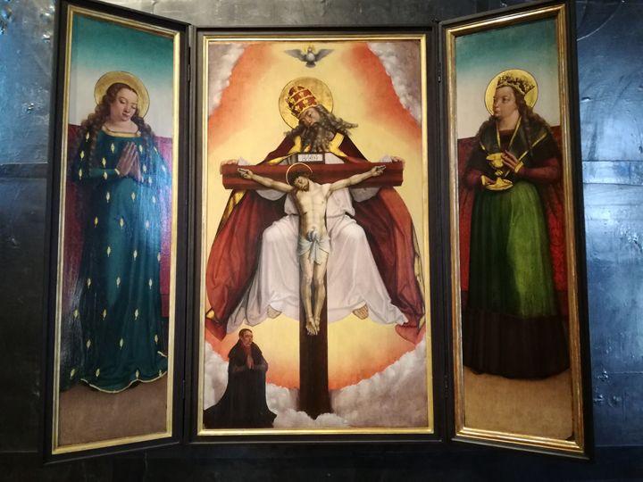 Christian altar religious themes - Danciatko