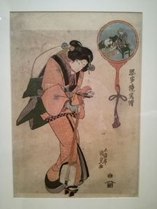 Ancient japanese art - Danciatko