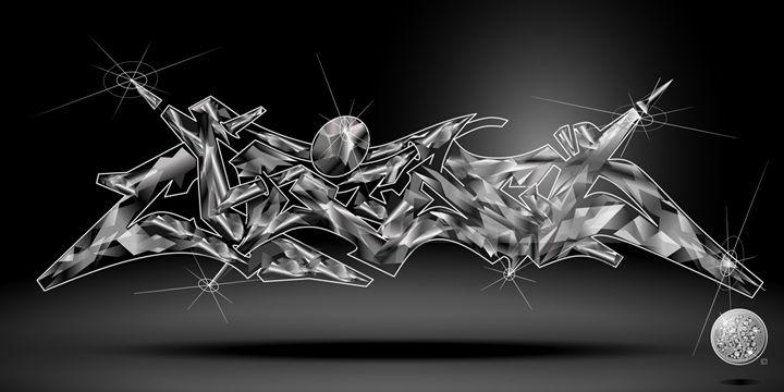Chicago Abstract Graffiti - Artist Monolo Velazquez