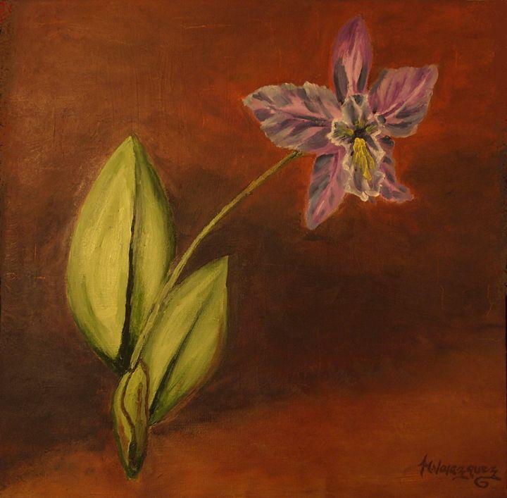 Rosa's Orquidea - Artist Monolo Velazquez