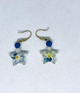 Star earrings,Celestial earrings,