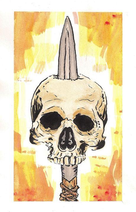 Skull 3 - Paul White