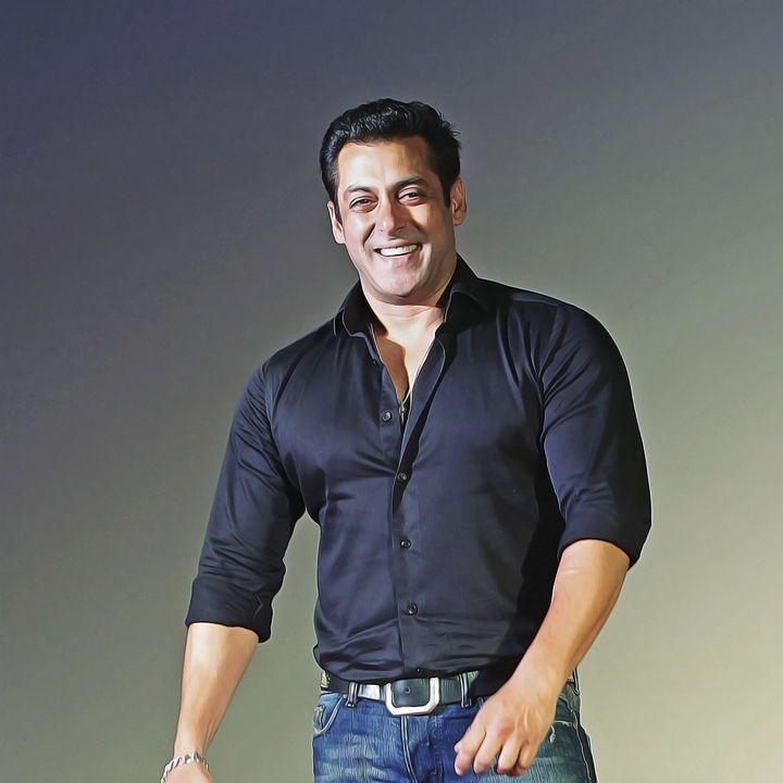 Salman Khan - Celebrity - Oil Paint Art