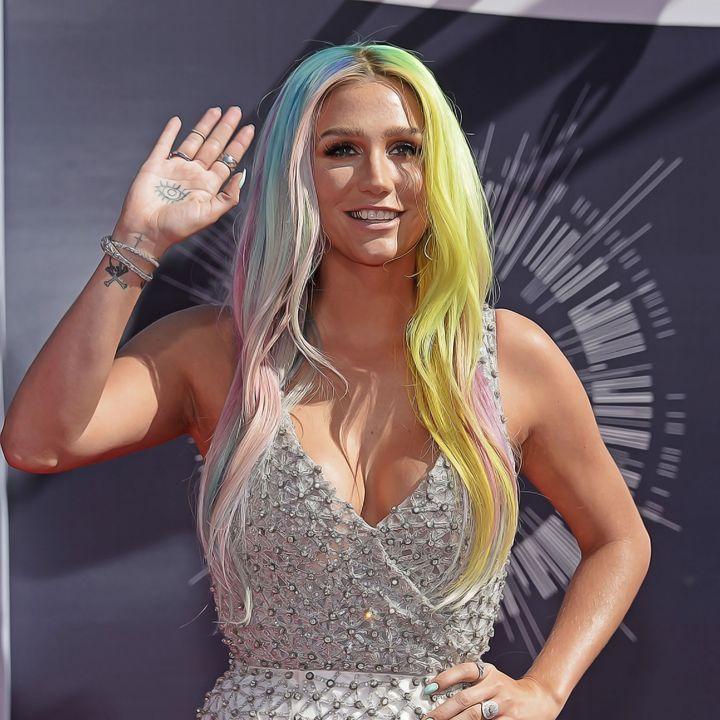 Kesha - Celebrity - Oil Paint Art - Oil Paint Art