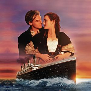 Titanic - Oil Paint Art