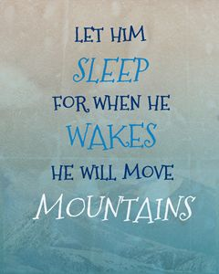 Let Him Sleep MOVE MOUNTAINS