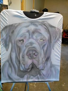 My dog on T-shirt