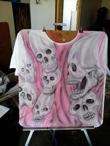 Distorted skulls