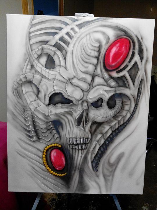 Dead space pirates treasure. - Skunk-Art