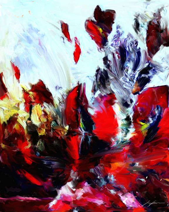 Abstract Flowers - Digital Images Gallery