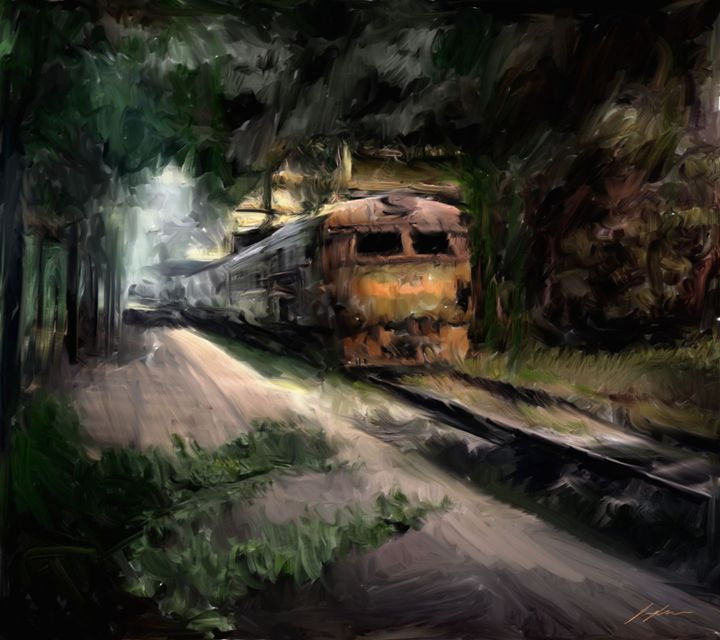 Lost Station - Digital Images Gallery