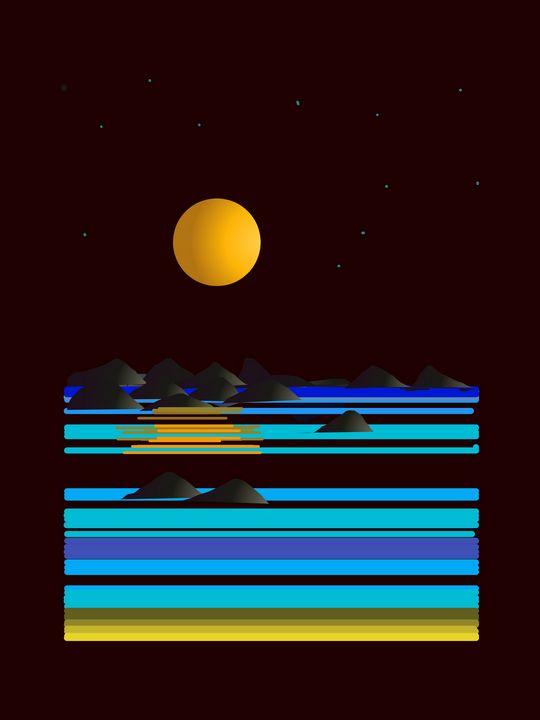 Notte stellata - Risso Raffaella