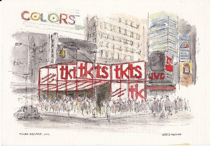 Times Square, NYC - Harold Radgiff