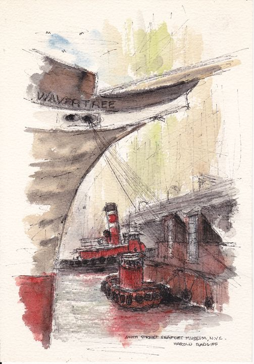 South Street Seaport Museum, NYC - Harold Radgiff