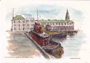 Tugs at Pier 'A'