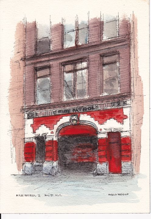 Fire Patrol 2, 3rd St., NYC - Harold Radgiff