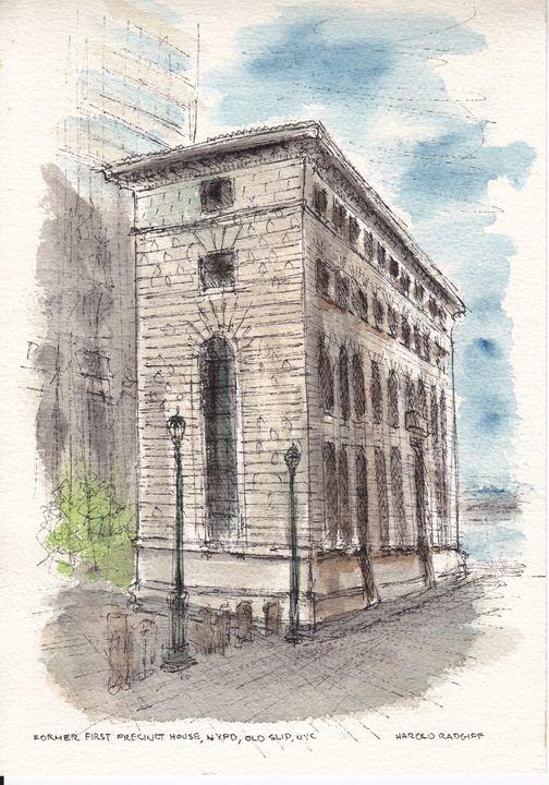 Former First Precinct House, NYPD - Harold Radgiff