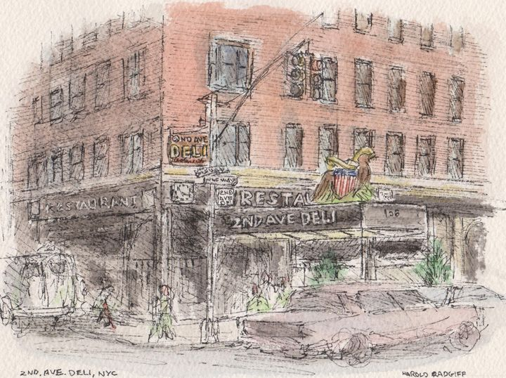 2nd Avenue Deli - Harold Radgiff