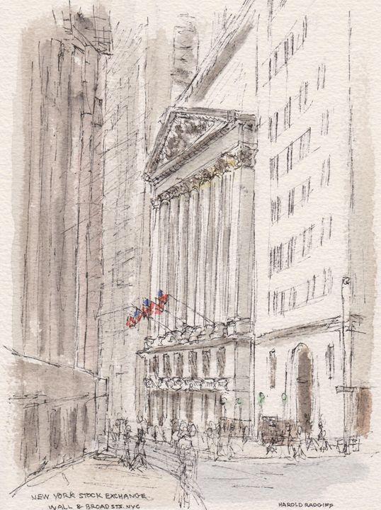 New York Stock Exchange - Harold Radgiff